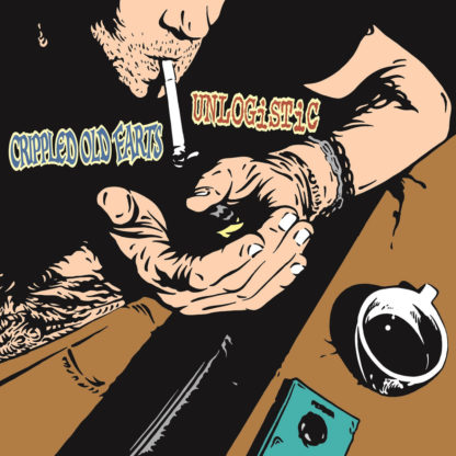 CRIPPLED OLD FARTS / UNLOGISTIC Split - Vinyl LP (black)