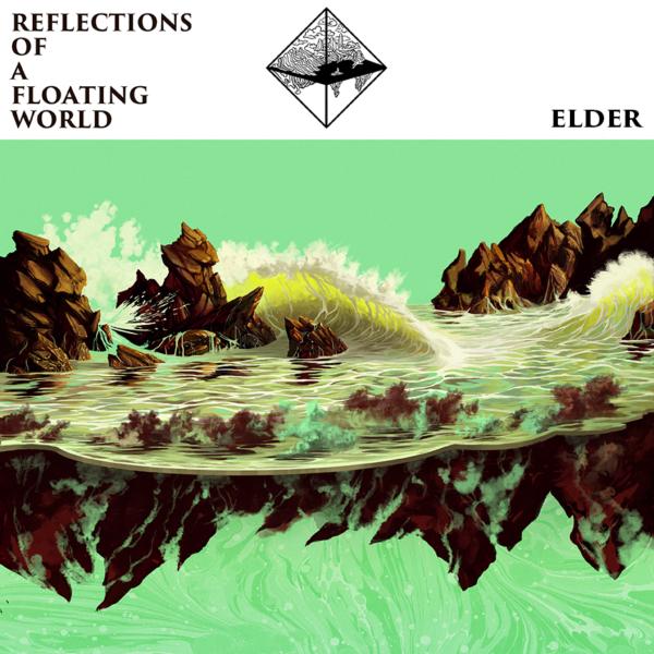 ELDER Reflections of a Floating World - Vinyl 2xLP (sea foam green)
