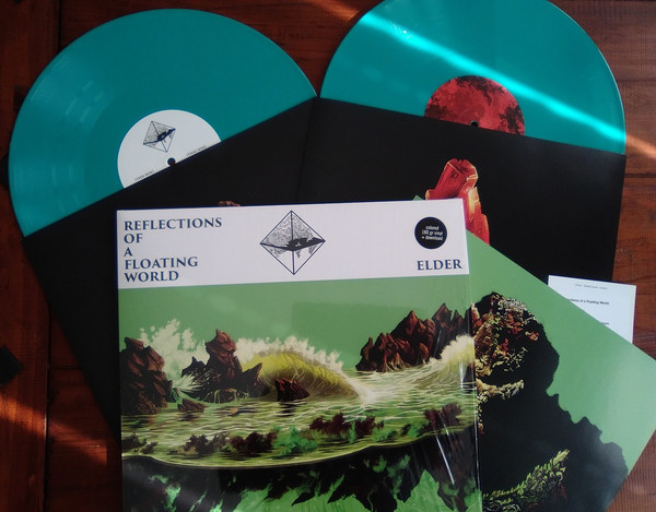 ELDER Reflections of a Floating World – Vinyl 2xLP (sea foam green)