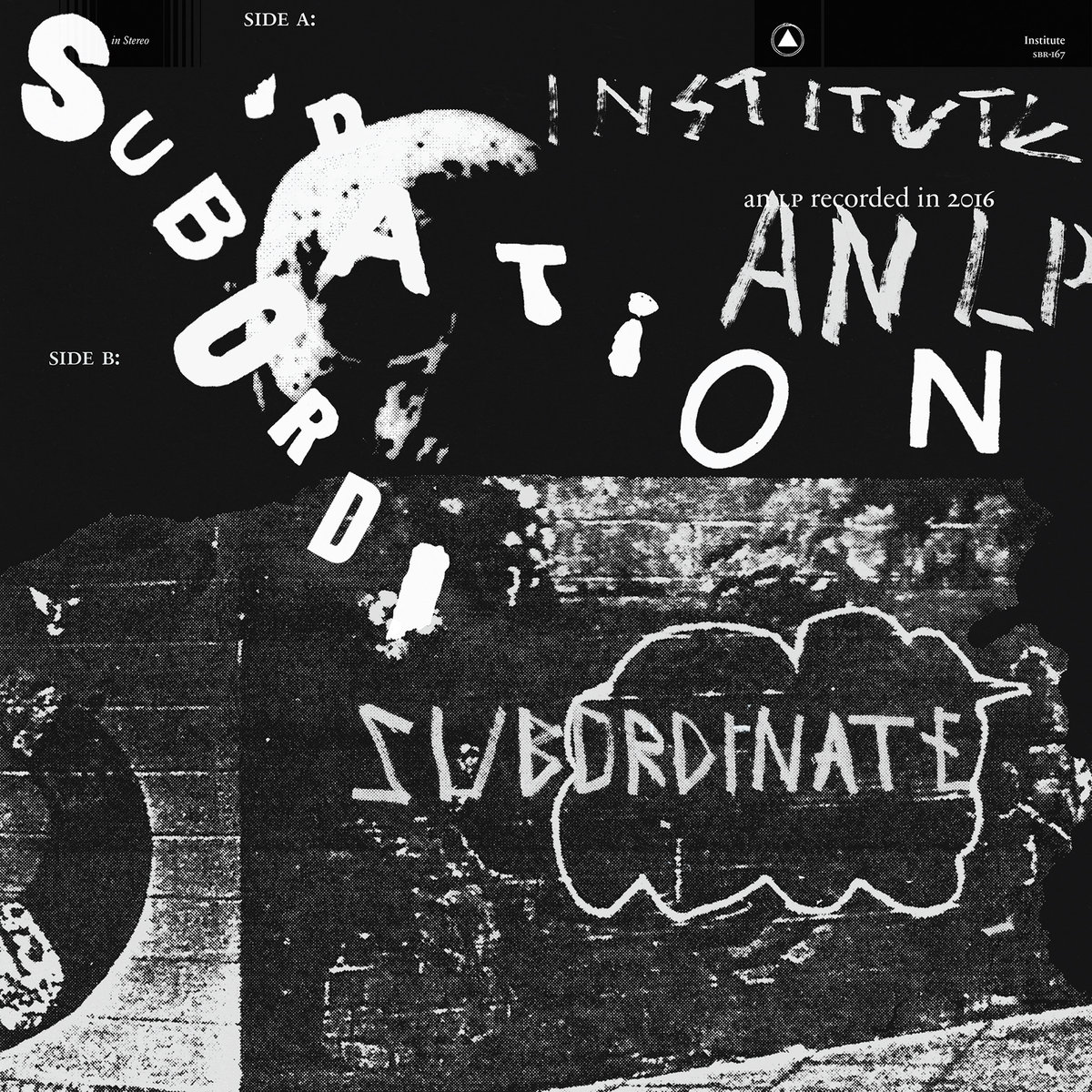 INSTITUTE Subordination - Vinyl LP (clear)