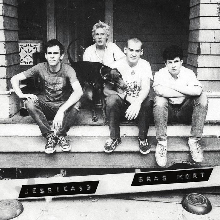JESSICA93 / BRAS MORT Split - Vinyl 7'' (black)