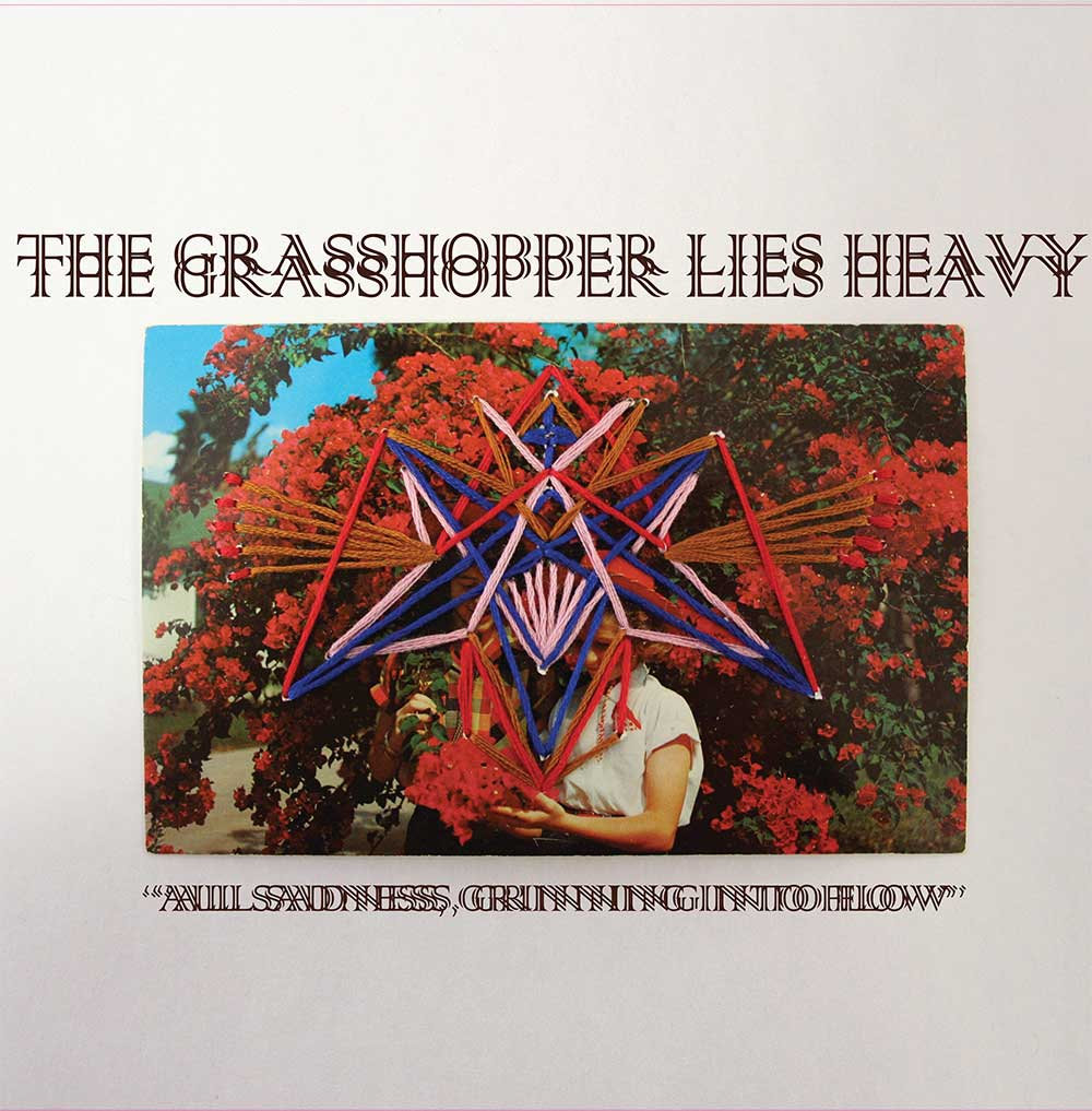 THE GRASSHOPPER LIES HEAVY All Sadness Grinning Into Flow - Vinyl LP (white with red green splatter)