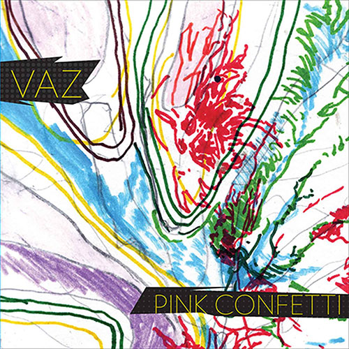 VAZ Pink Confetti – Vinyl LP (clear with pink splatter)