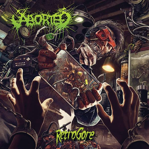 ABORTED Retrogore – Vinyl LP (black) + CD