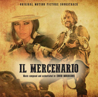 ENNIO MORRICONE Il Mercenario - Vinyl LP (gold)