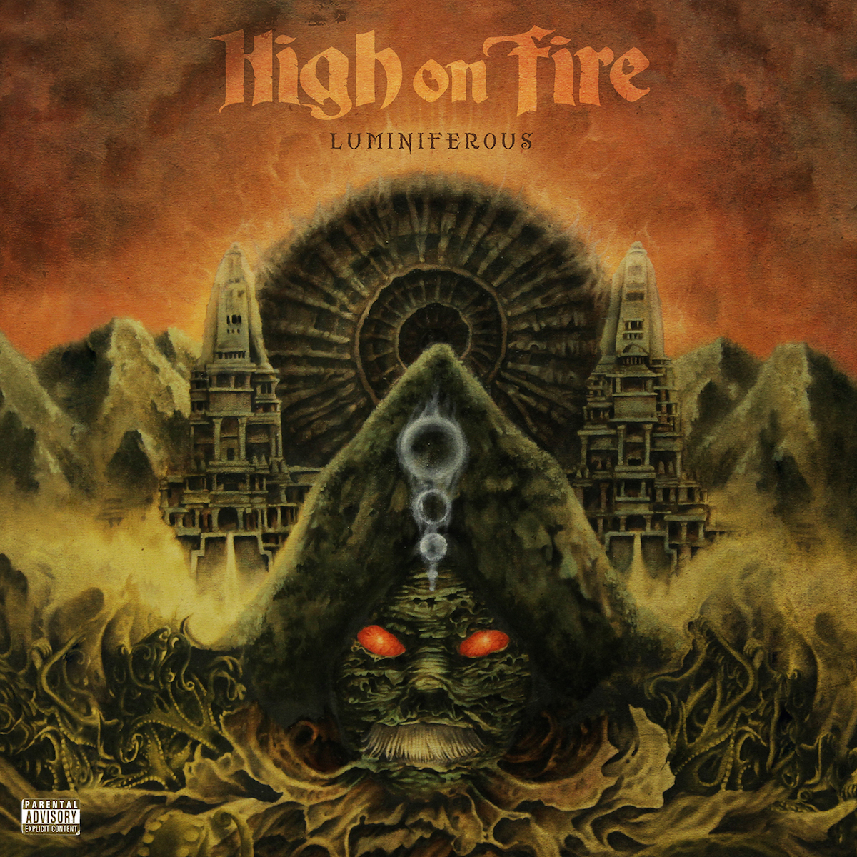 HIGH ON FIRE Luminiferous – Vinyl 2xLP (black) + CD