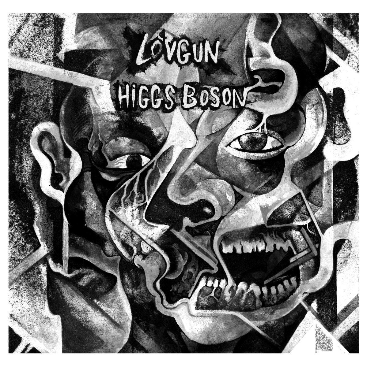 "LOVGUN / HIGGS BOSON Split - Vinyl 7"" (black)"