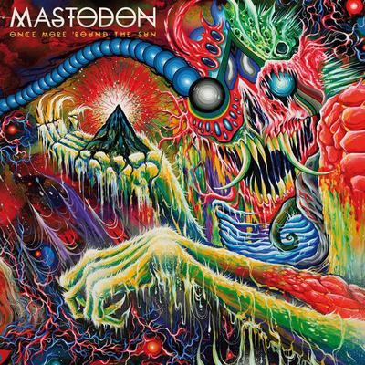 MASTODON Once More 'Round The Sun - Vinyl 2xLP (green white marbled)