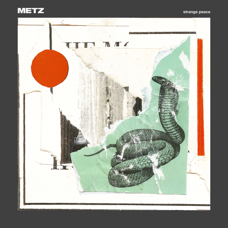 METZ Strange Peace – Vinyl LP (clear w/red and green swirl | black) *Pre-order
