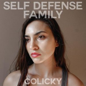 SELF DEFENSE FAMILY Colicky - Vinyl LP (transparent red)