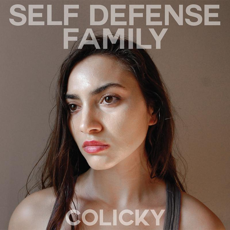 SELF DEFENSE FAMILY Colicky – Vinyl LP (transparent red)