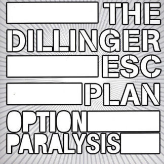 THE DILLINGER ESCAPE PLAN Option Paralysis - Vinyl LP (silver)