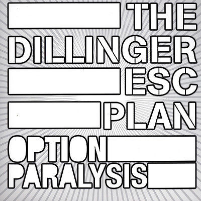 THE DILLINGER ESCAPE PLAN Option Paralysis - Vinyl LP (black)