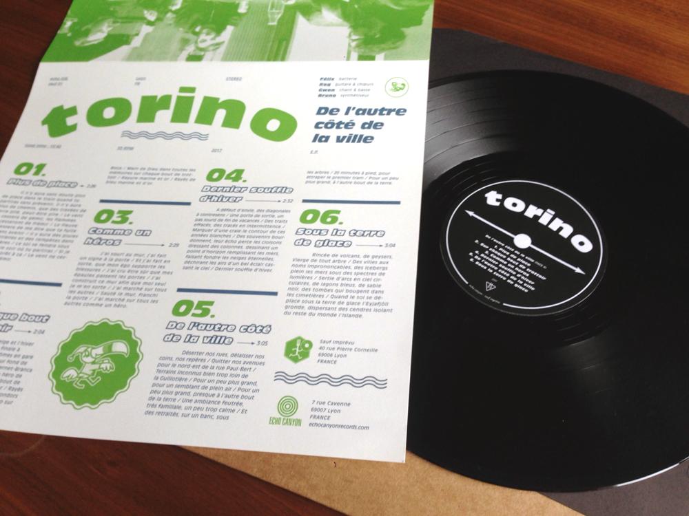 TORINO De L'Autre Coté De La Ville - Vinyl LP (black)