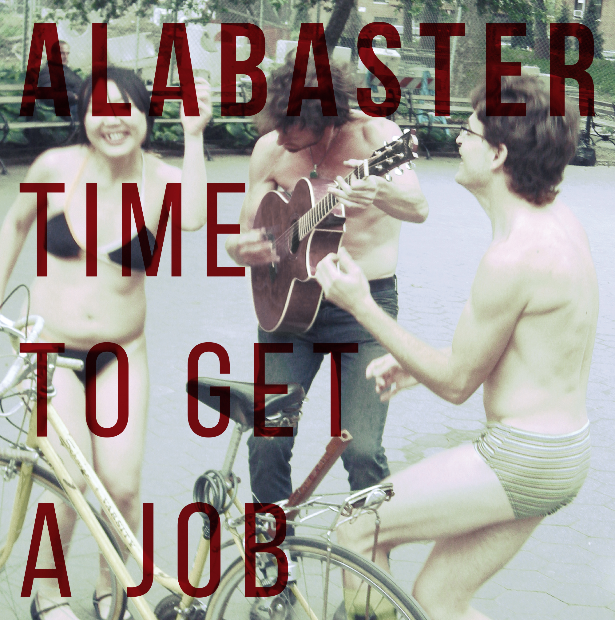 ALABASTER Time To Get A Job - Vinyl LP (black)