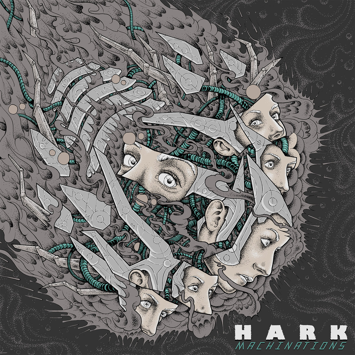 HARK Machinations – Vinyl LP (black)