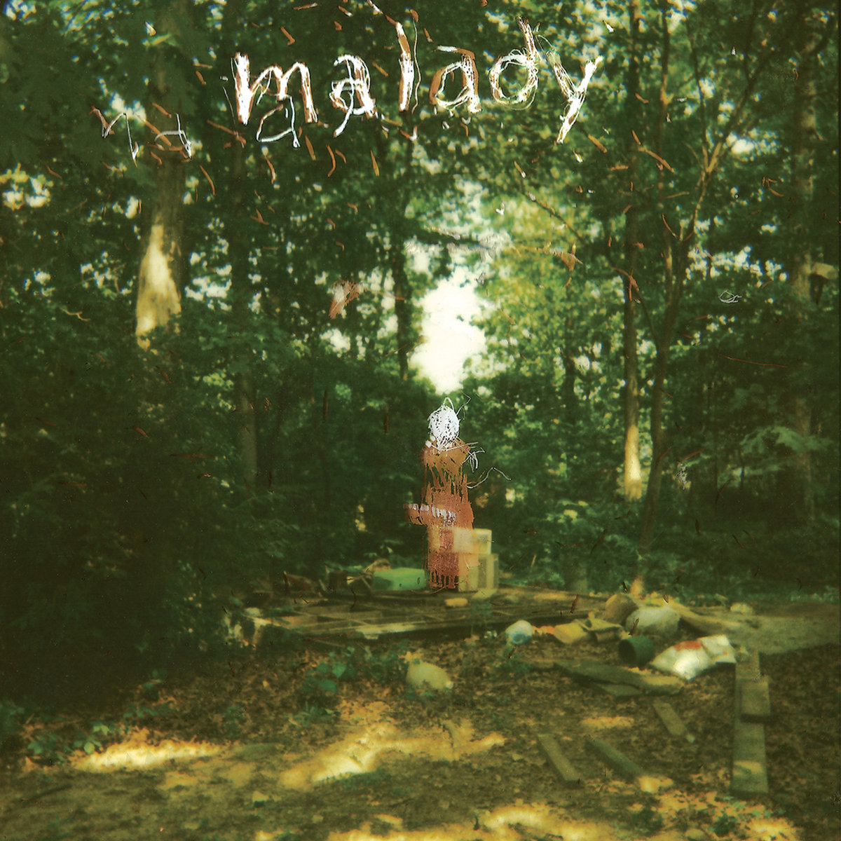 MALADY s/t – Vinyl LP (green with brown splatter)