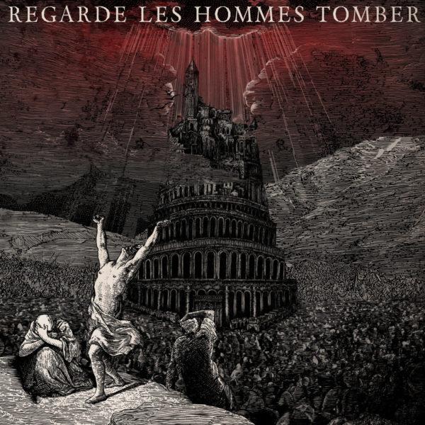 REGARDE LES HOMMES TOMBER s/t - Vinyl LP (transparent red)