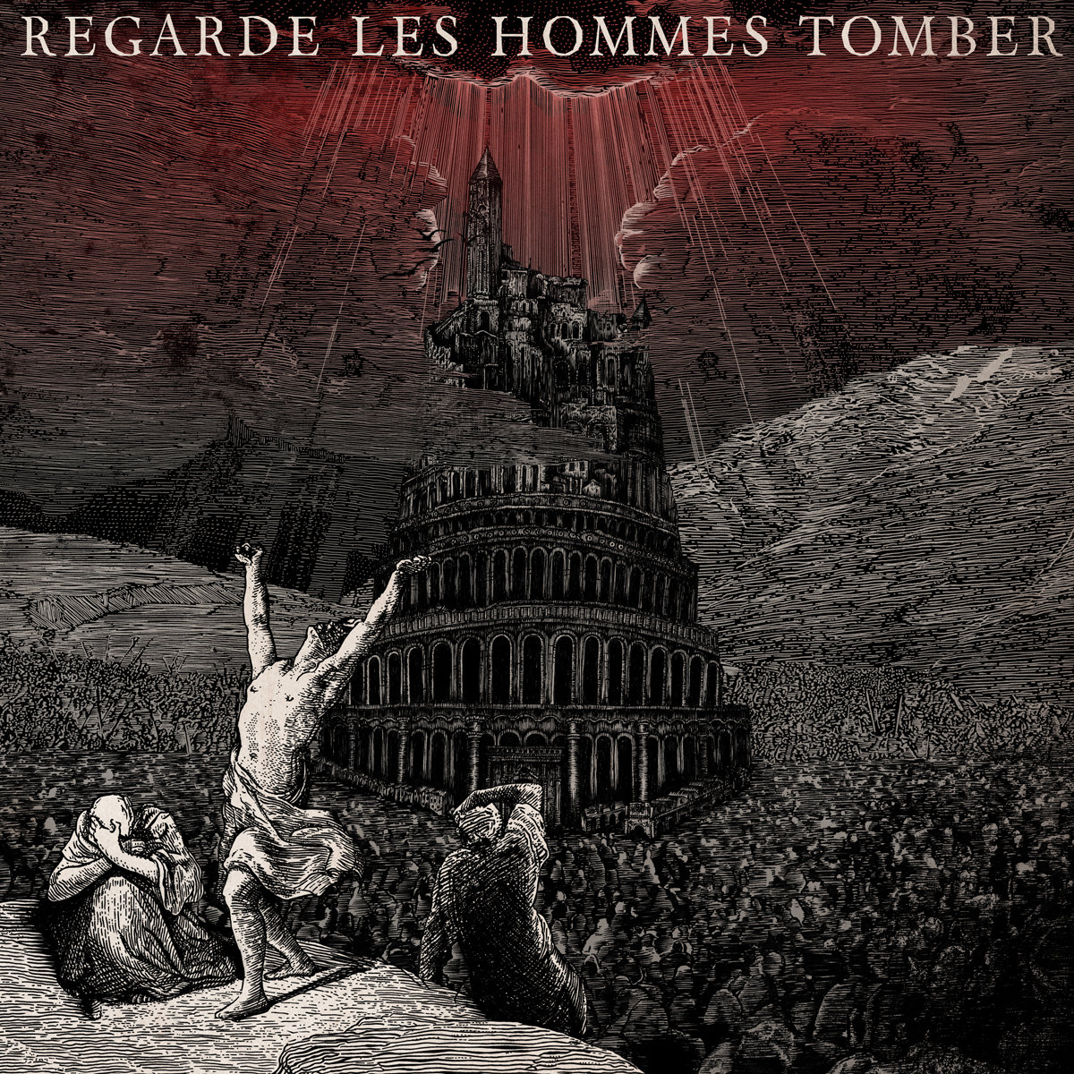 REGARDE LES HOMMES TOMBER s/t – Vinyl LP (transparent red)