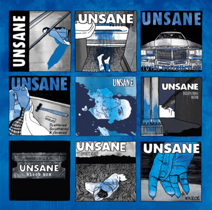 UNSANE Shattered, Flattered & Covered – A Tribute To Unsane - Vinyl 2xLP (black) + 2xCD