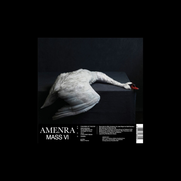 AMENRA Mass VI – Vinyl 2xLP (black | white with black splatter) *Pre-order