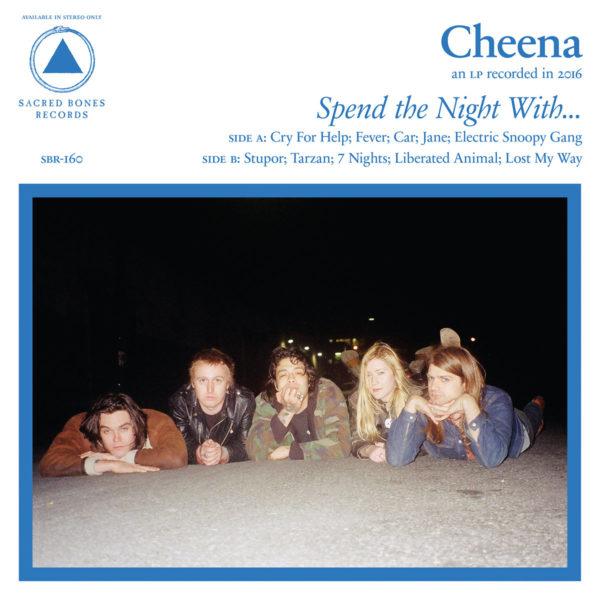 CHEENA Spend the Night With... - Vinyl LP (black)
