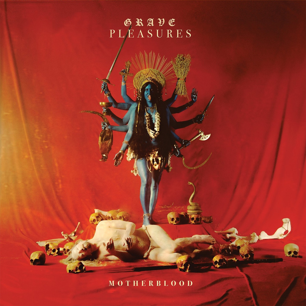 GRAVE PLEASURES Motherblood – Vinyl LP (black) + CD *Pre-order
