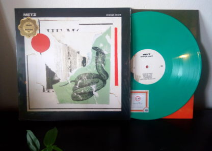 METZ Strange Peace - Vinyl LP (green loser edition)