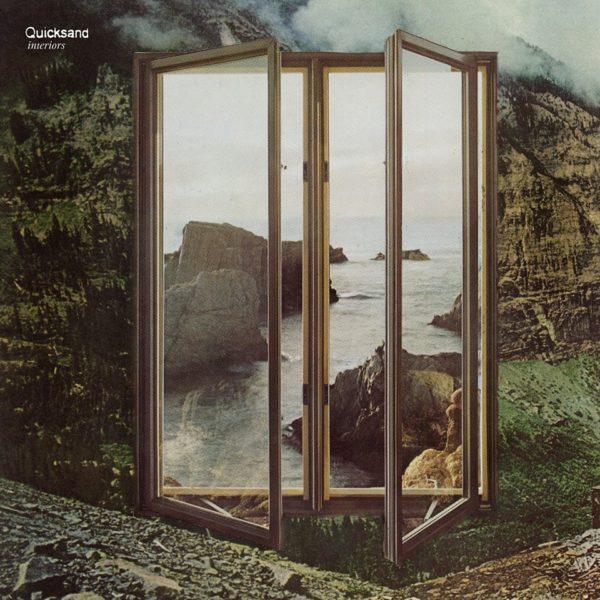 QUICKSAND Interiors - Vinyl LP (black | mint green)