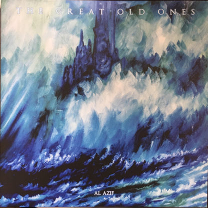 THE GREAT OLD ONES Al Azif - Vinyl 2xLP (blue)