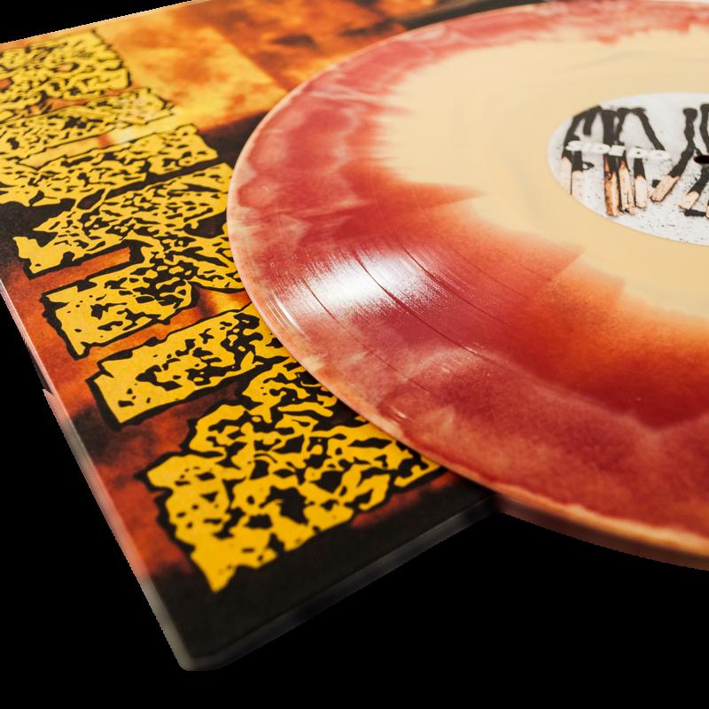 BURN Do Or Die - Vinyl LP (light yellow / oxblood mix)