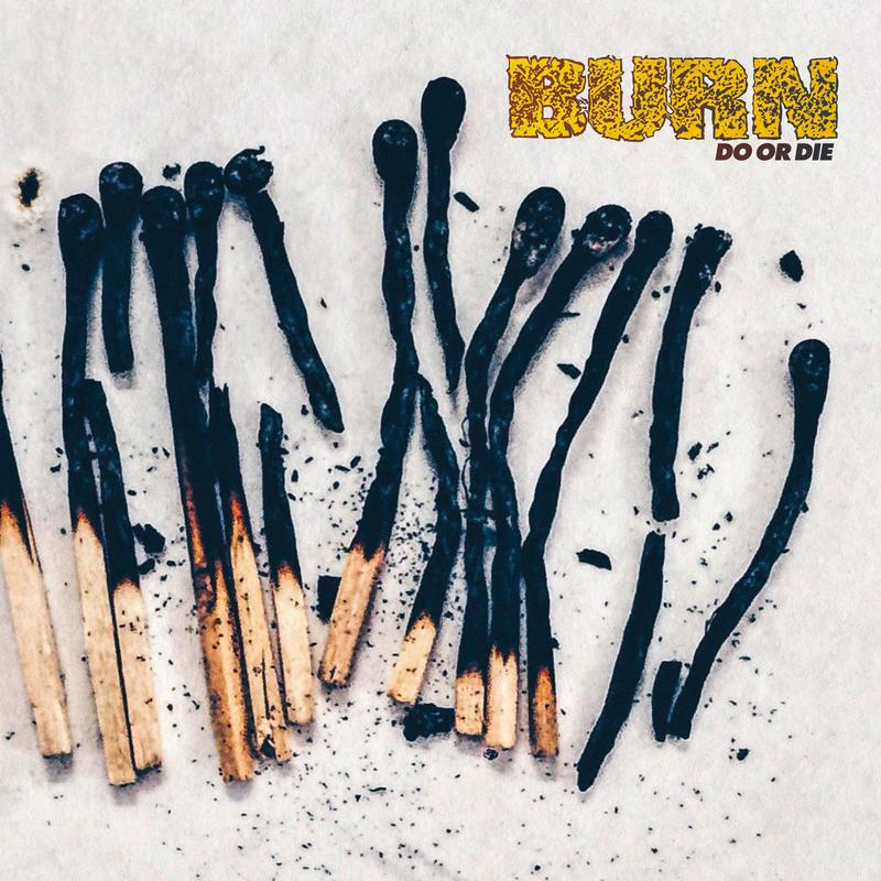 BURN Do Or Die - Vinyl LP (light yellow / oxblood mix)