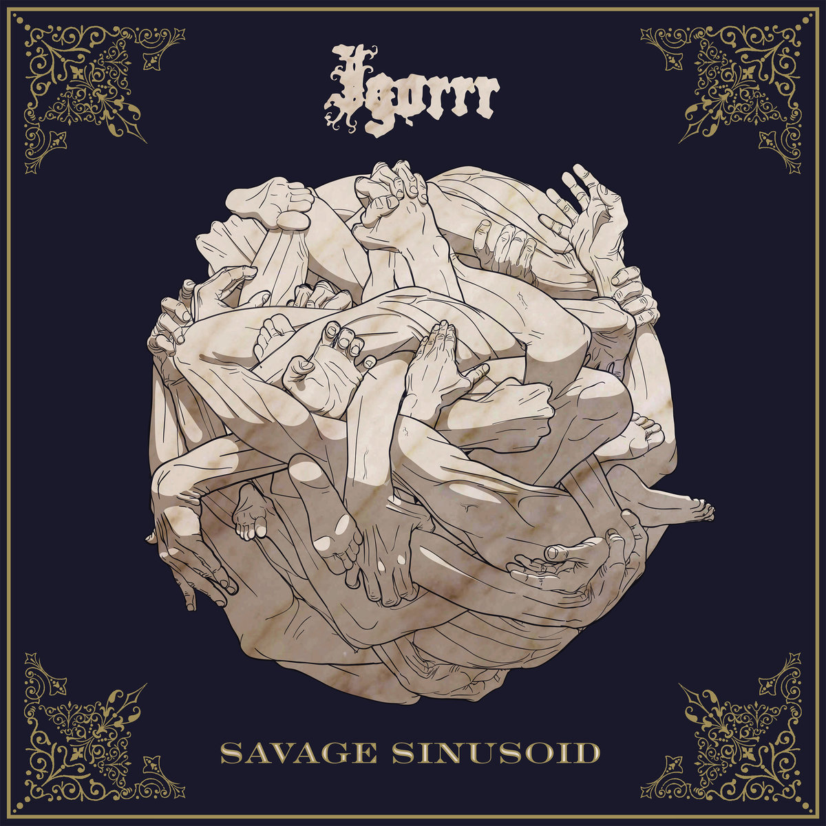 IGORRR Savage Sinusoid - Vinyl LP (olive black marbled)