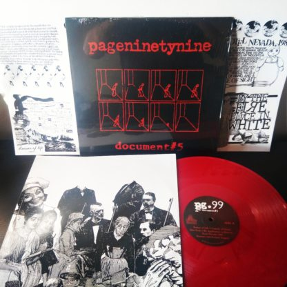 PG.99 Document #5 - Vinyl LP (red)