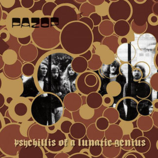 PAZOP Psychillis Of A Lunatic Genius - Vinyl LP (black)