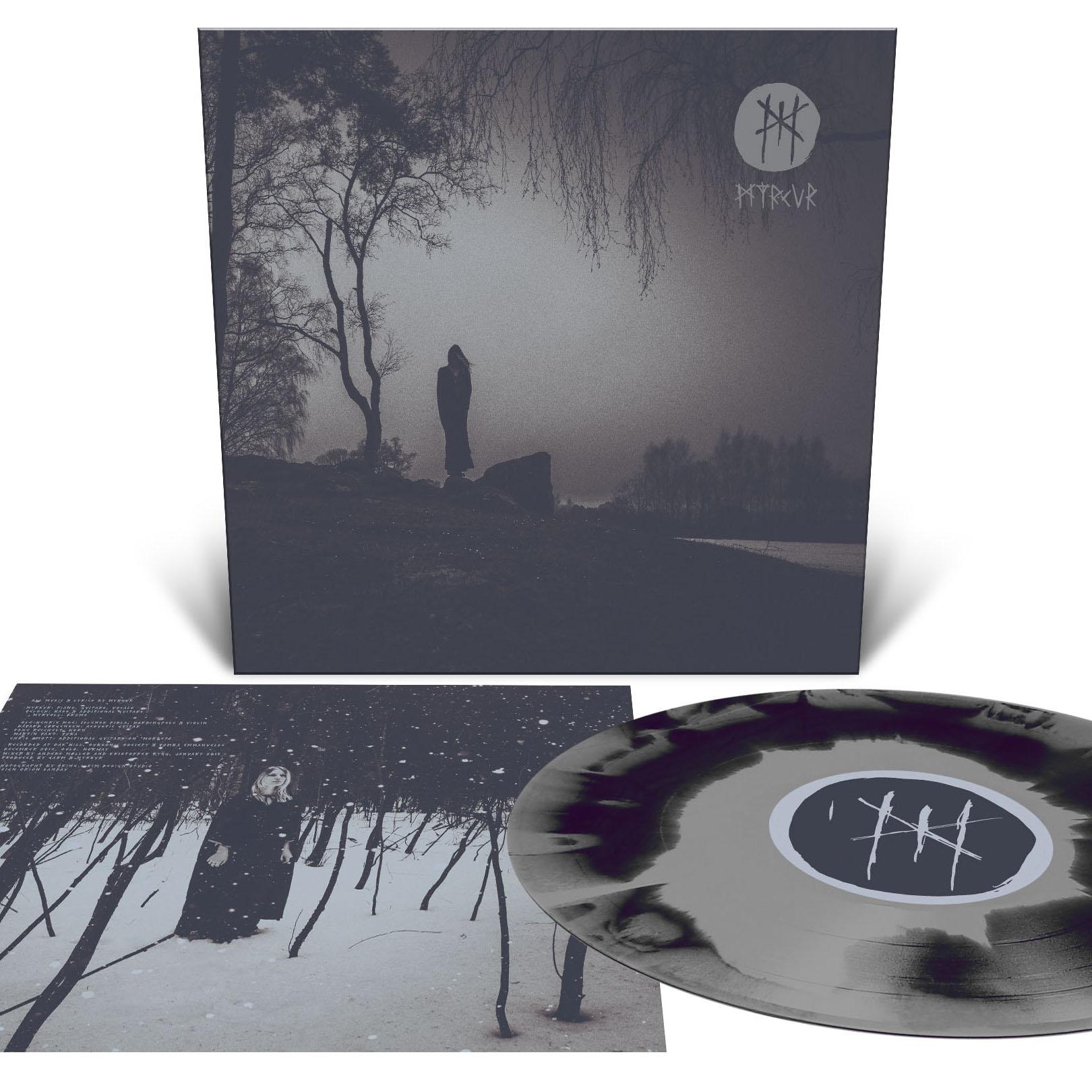 MYRKUR M - Vinyl LP (deep purple and silver merge)