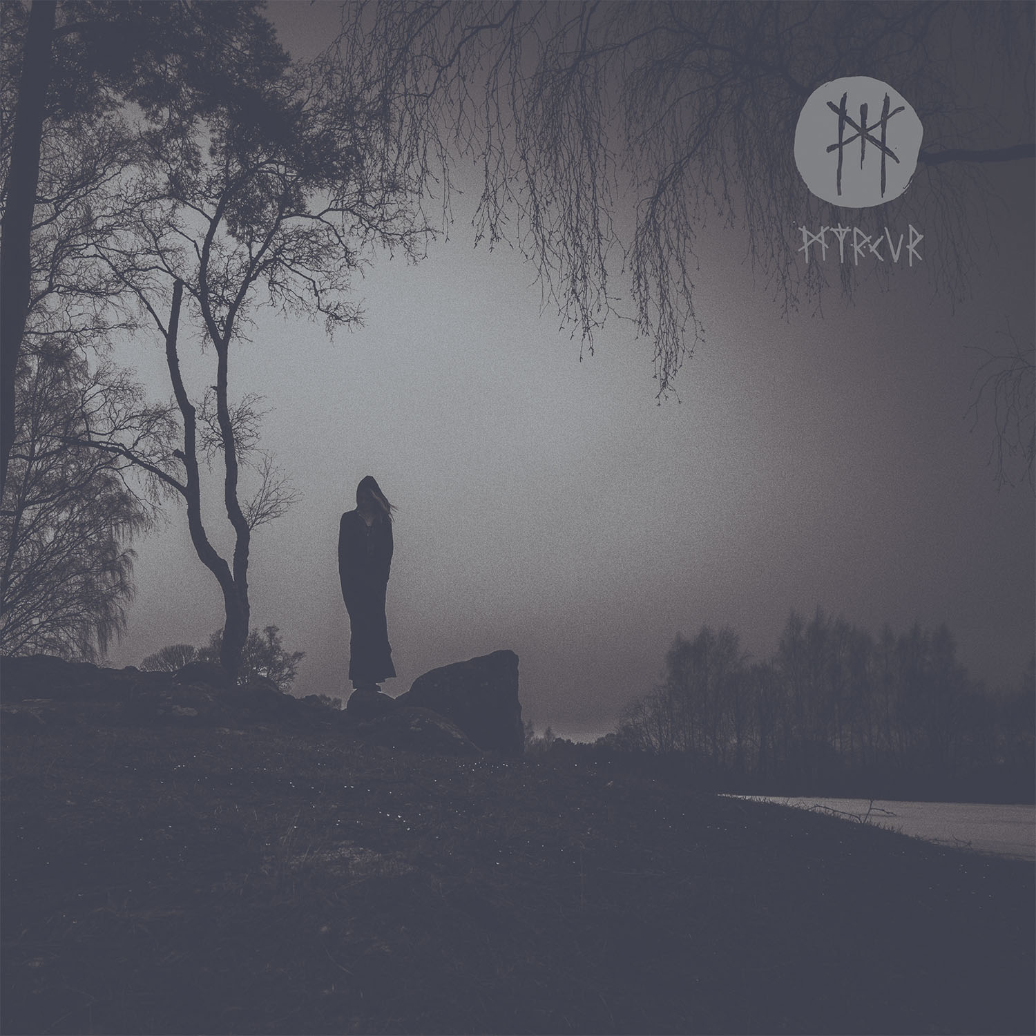MYRKUR M – Vinyl LP (deep purple and silver merge) * Pre-order