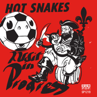 HOT SNAKES Audit In Progress - Vinyl LP (transparent pink)
