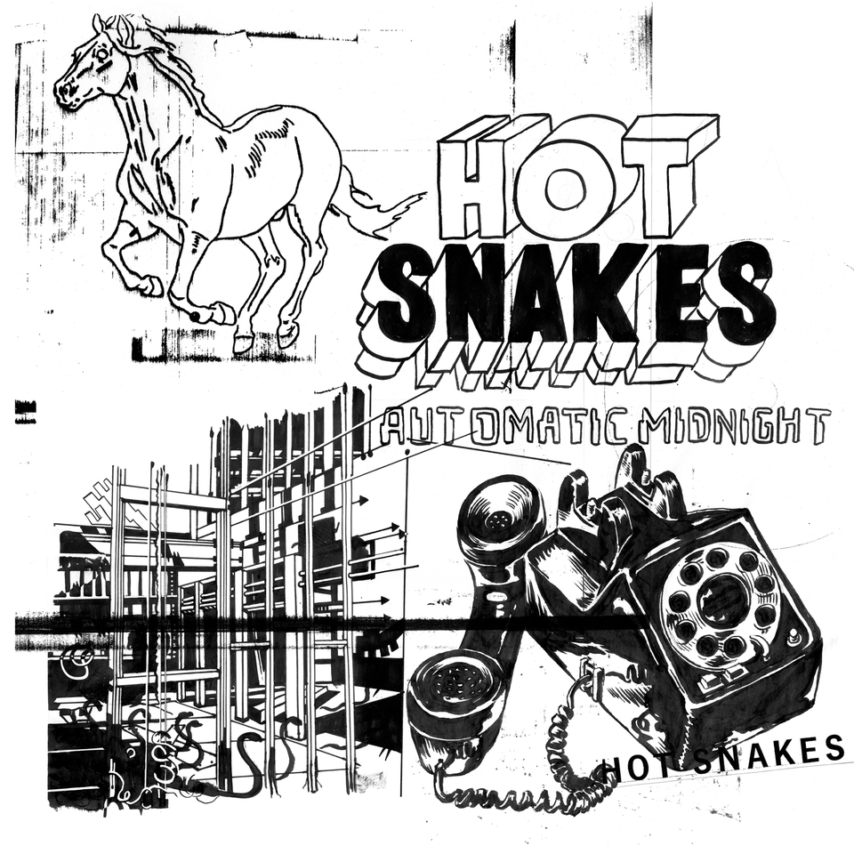 HOT SNAKES Automatic Midnight – Vinyl LP (transparent orange)
