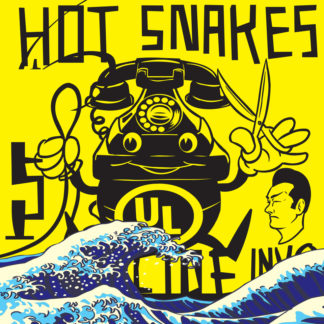 HOT SNAKES Suicide Invoice - Vinyl LP (transparent green)