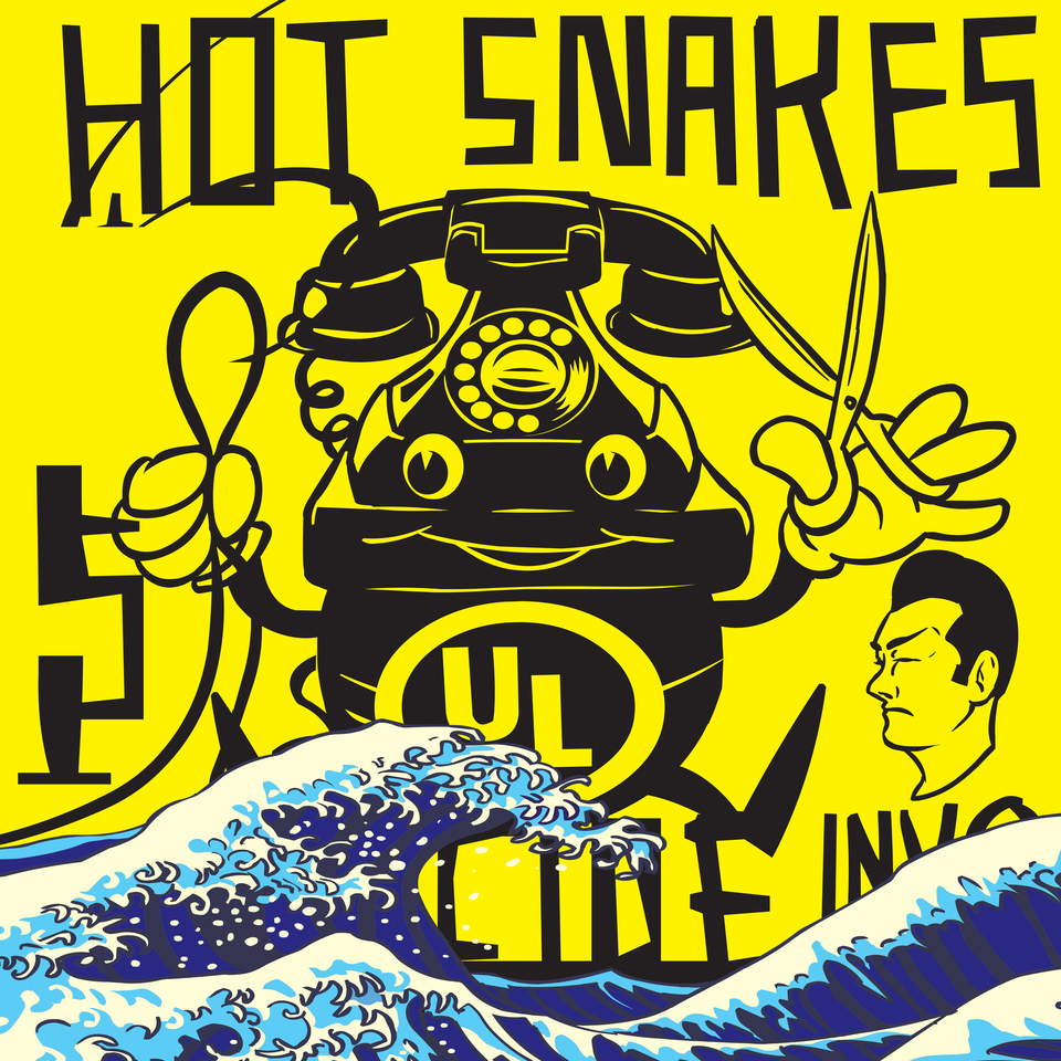 HOT SNAKES Suicide Invoice – Vinyl LP (transparent green)