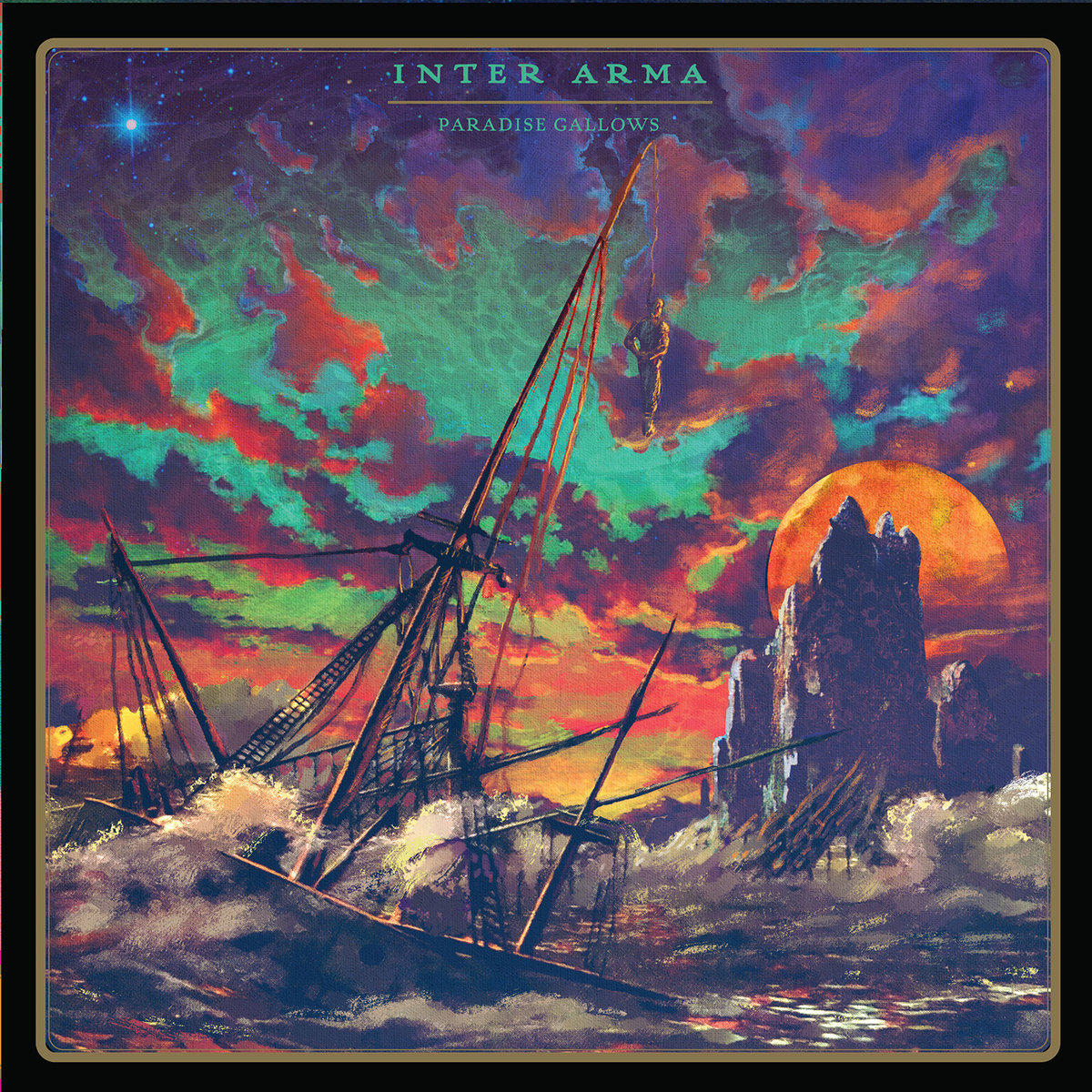 INTER ARMA Paradise Gallows – Vinyl 2xLP (black)