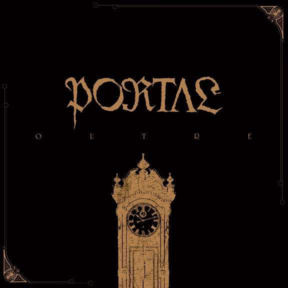 PORTAL Outre – Vinyl LP (bronze black splatter) *Pre-order