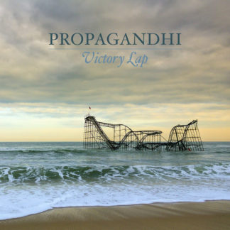 PROPAGANDHI Victory Lap - Vinyl LP (beer with grey smoke)