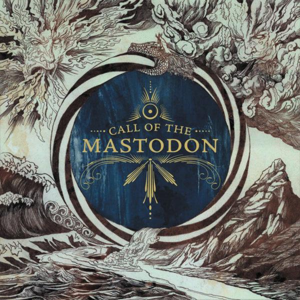 MASTODON Call The Mastodon - Vinyl LP (Gold Inside Clear with Blue and Silver Splatter)
