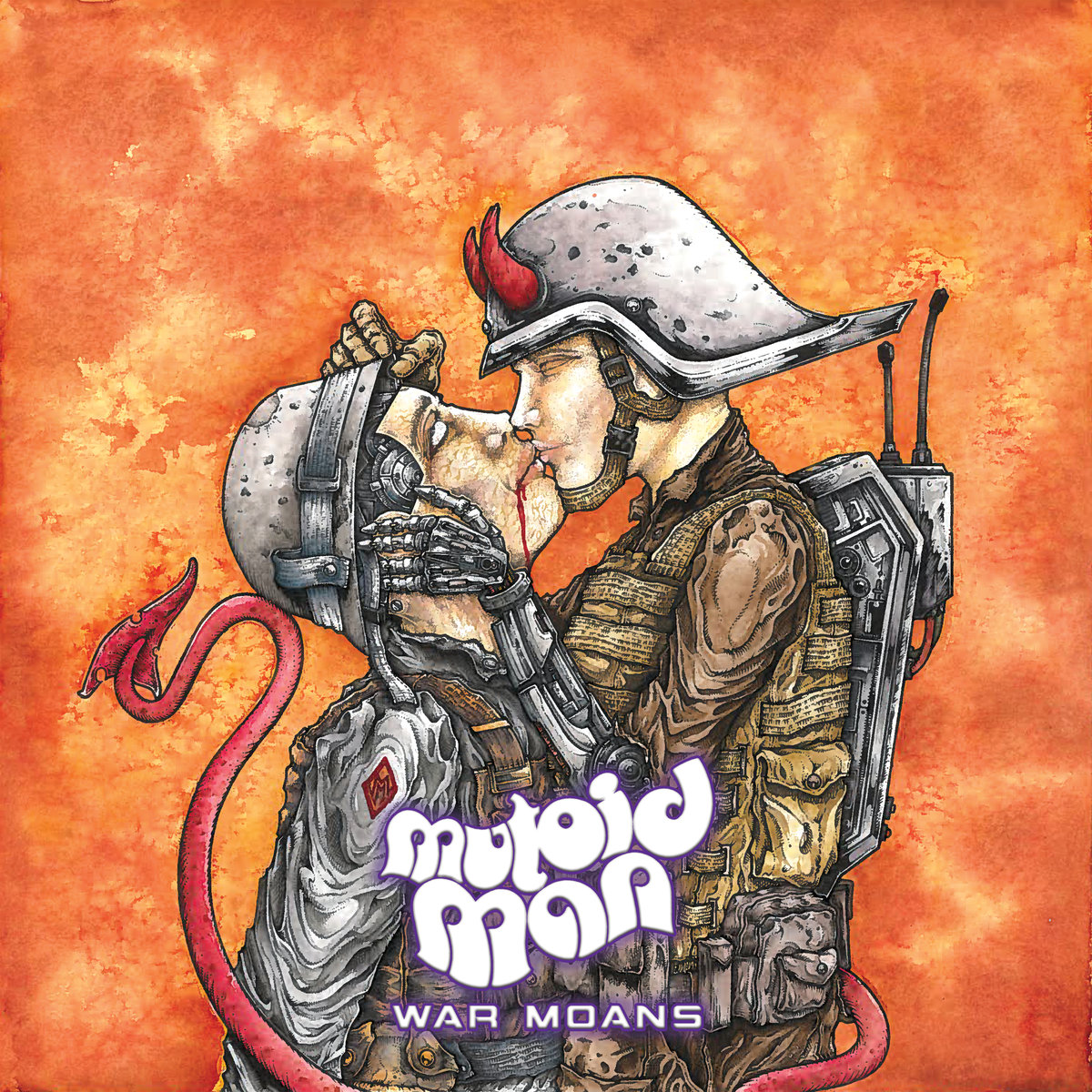 MUTOID MAN War Moans – Vinyl LP (black)