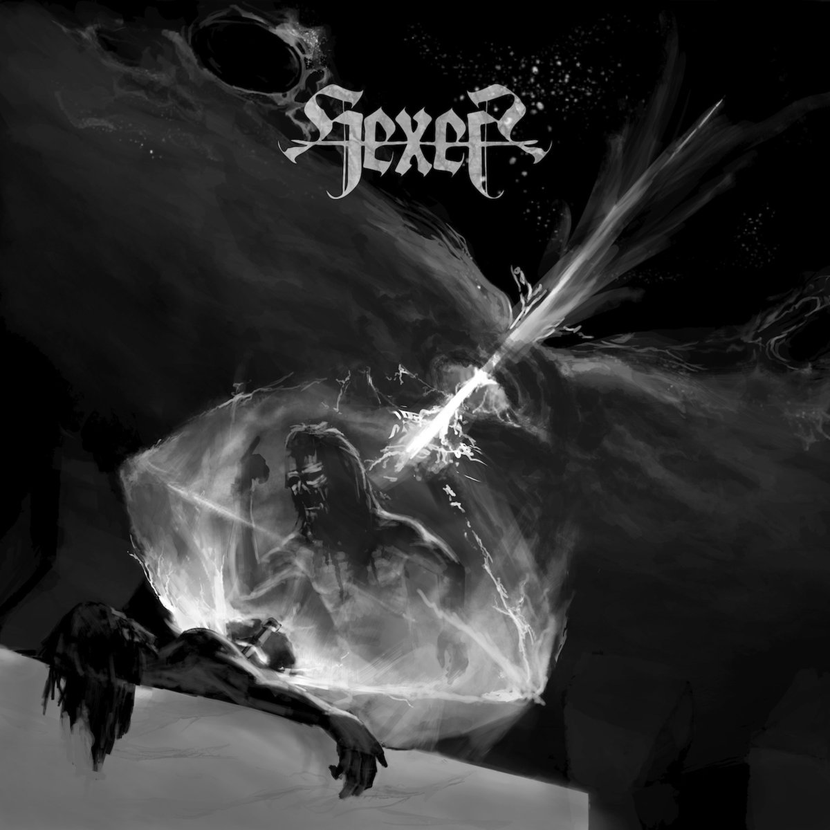 HEXER Cosmic Doom Ritual – Vinyl LP (black)
