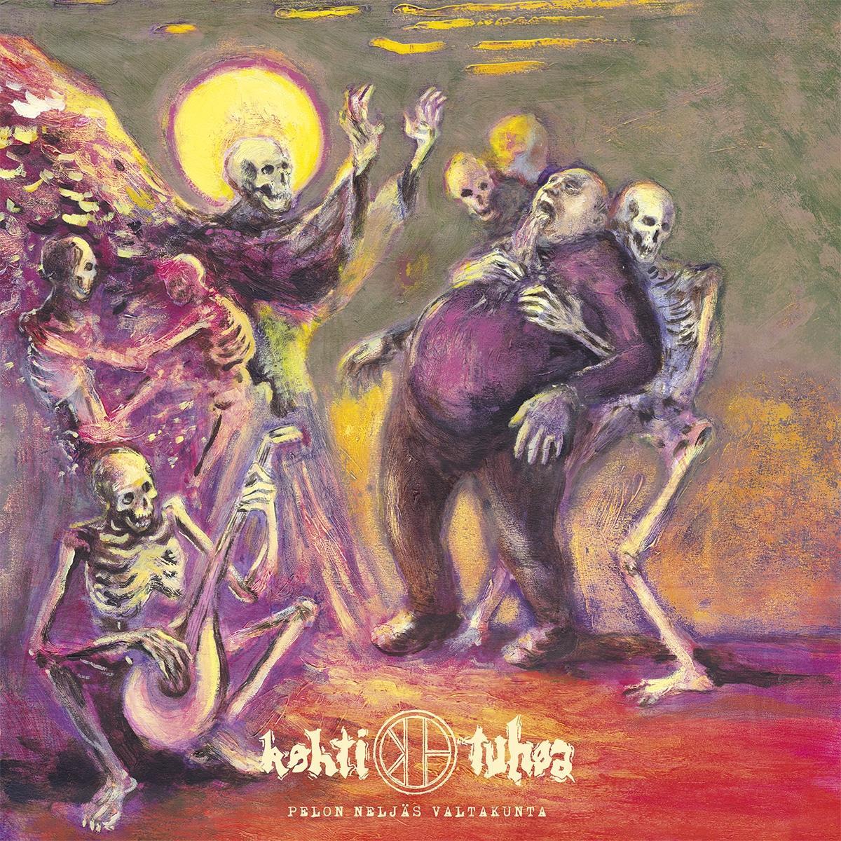 KOHTI TUHOA Pelon neljäs valtakunta – Vinyl LP (black)