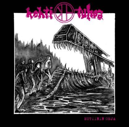 KOHTI TUHOA Rutiinin orja - Vinyl LP (black)