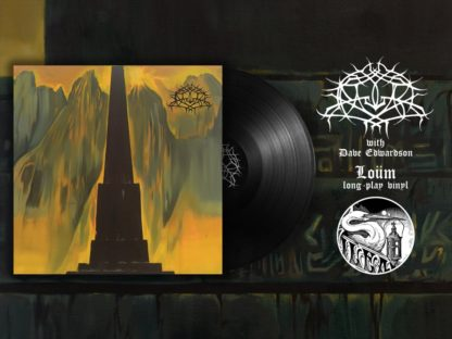 KRALLICE WITH DAVE EDWARDSON Loüm - Vinyl LP (black)